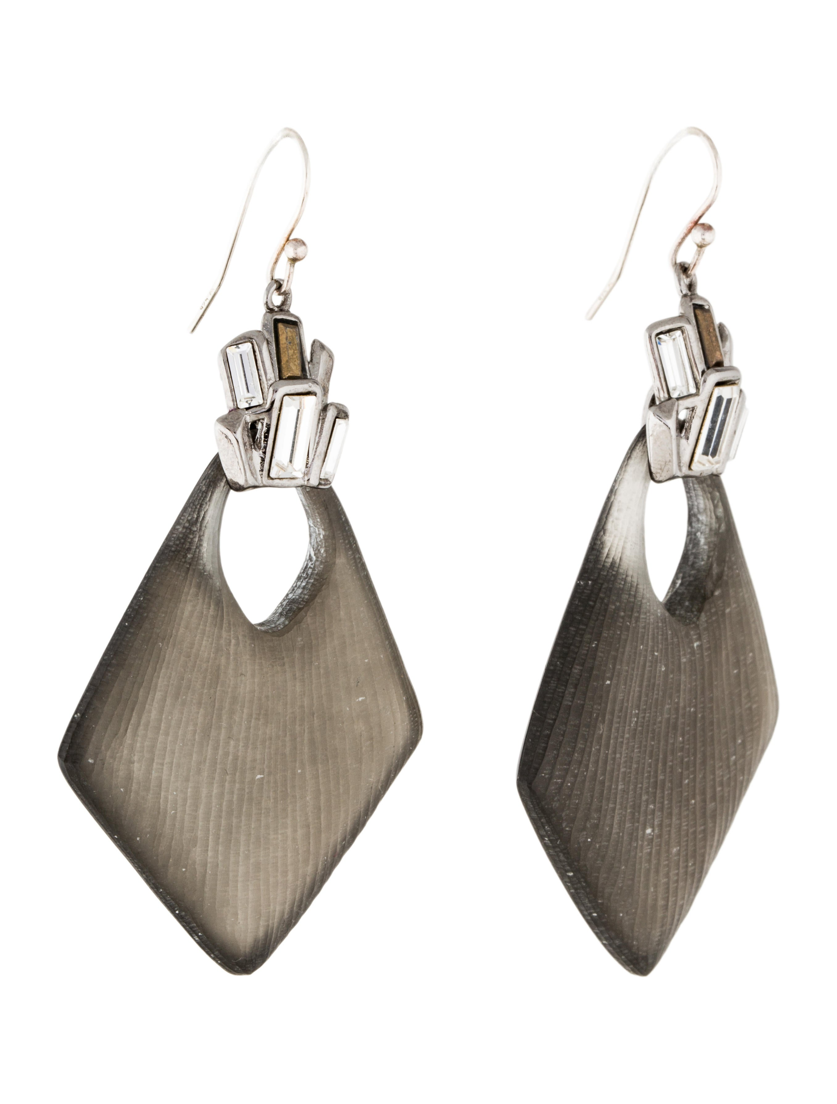 alexis bittar deco lucite drop earrings earrings wa529215 the realreal. Black Bedroom Furniture Sets. Home Design Ideas