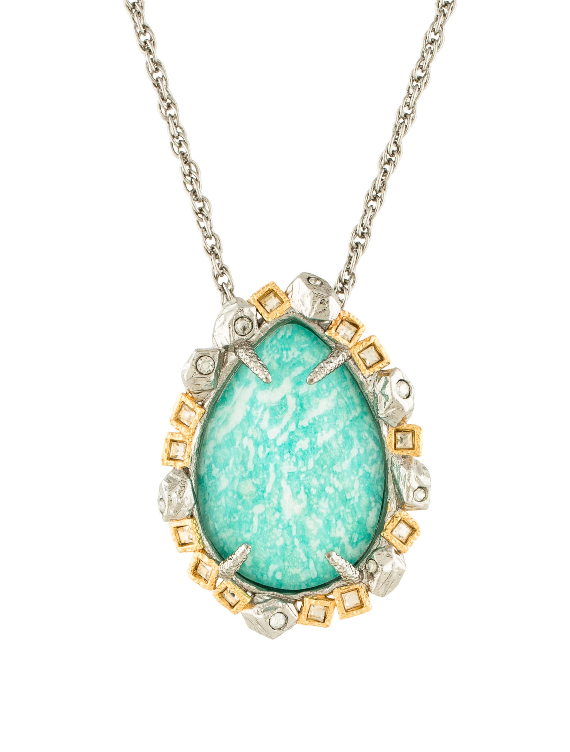 amazonite fine jewelry glitters necklace product