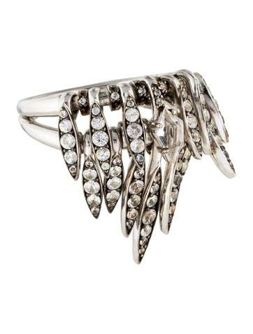 Alexis Bittar Sapphire & Quartz Fringe Ring None