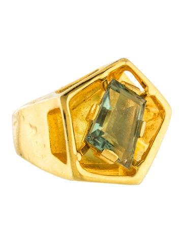 Alexis Bittar Modern Georgian Ring None