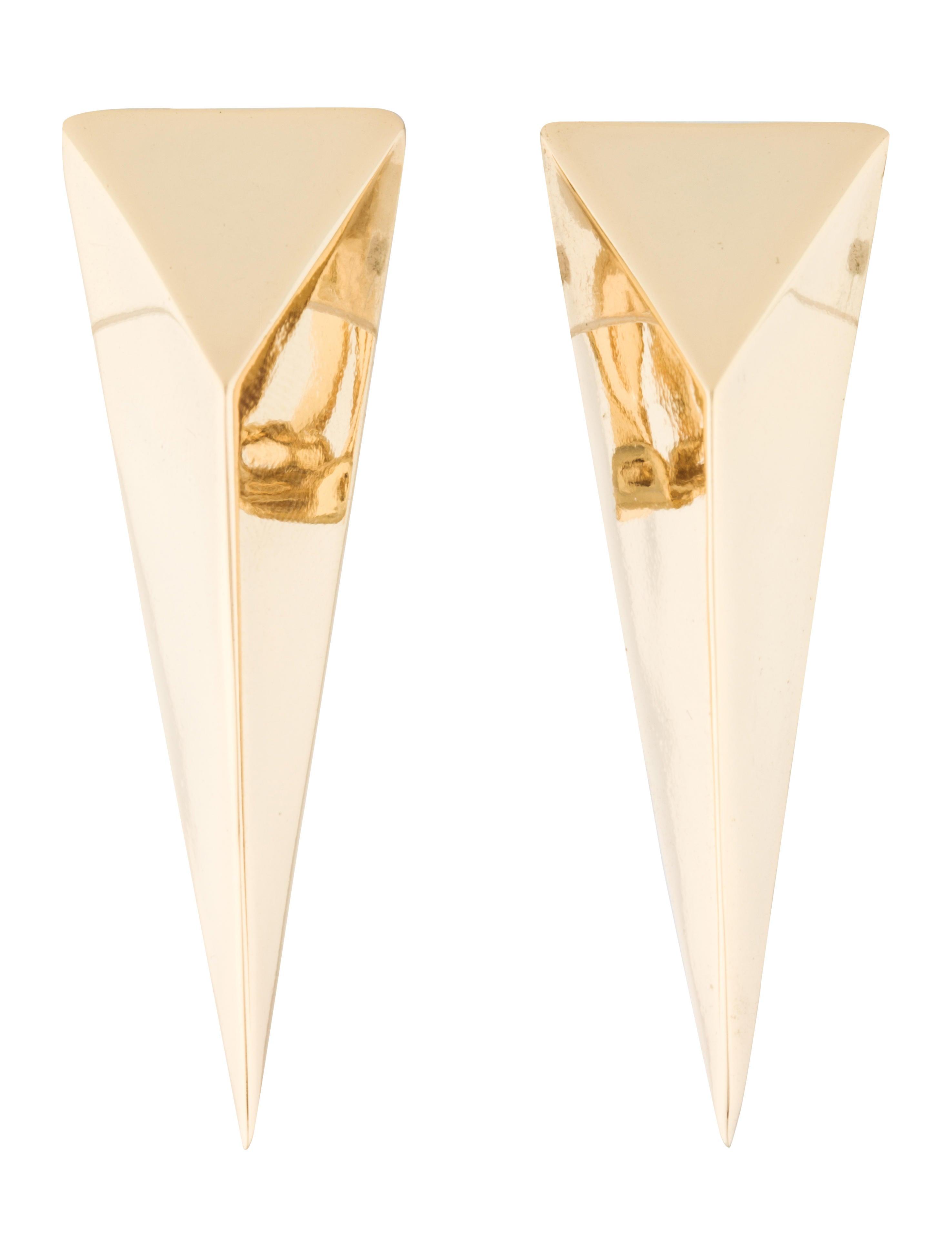 Alexis Bittar Extra Large Pyramid Clip Earring ZAGMpIk5ug