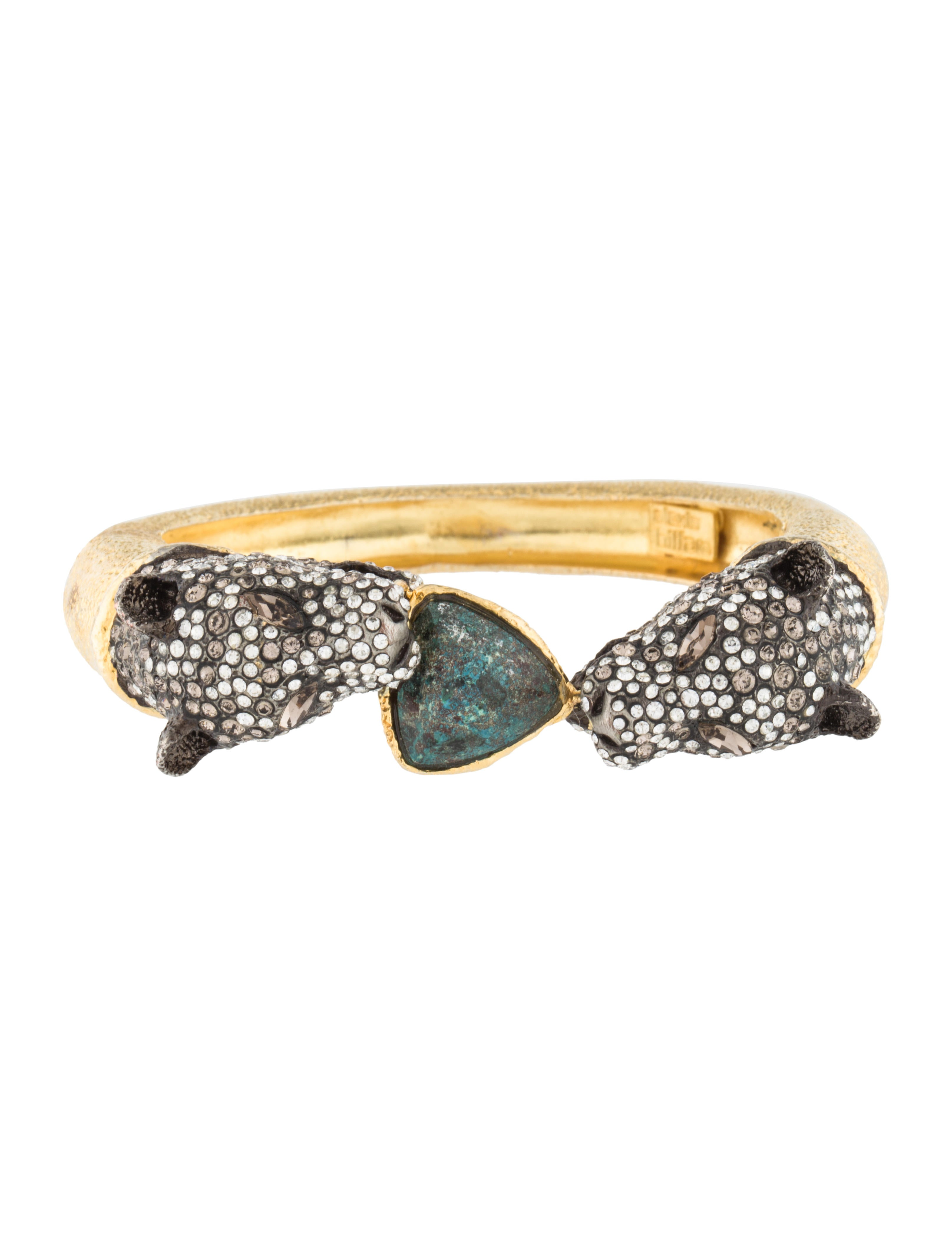 Crystal Panther Bracelet