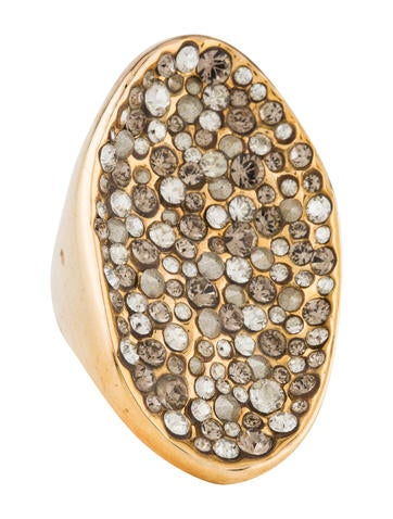 Alexis Bittar Crystal Ring None