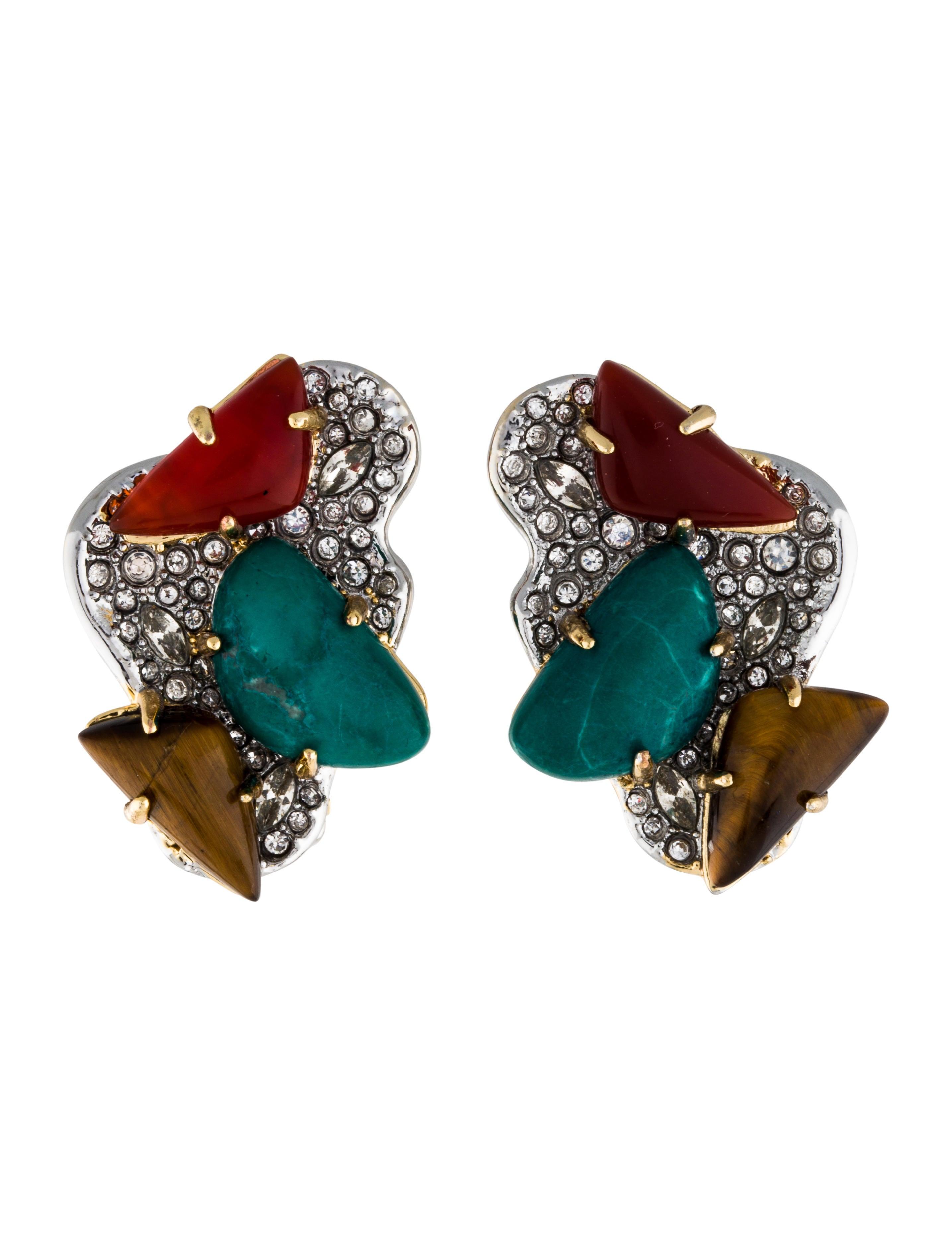 Alexis Bittar Roxbury Cluster Clip Earring i2tr4UQjMI
