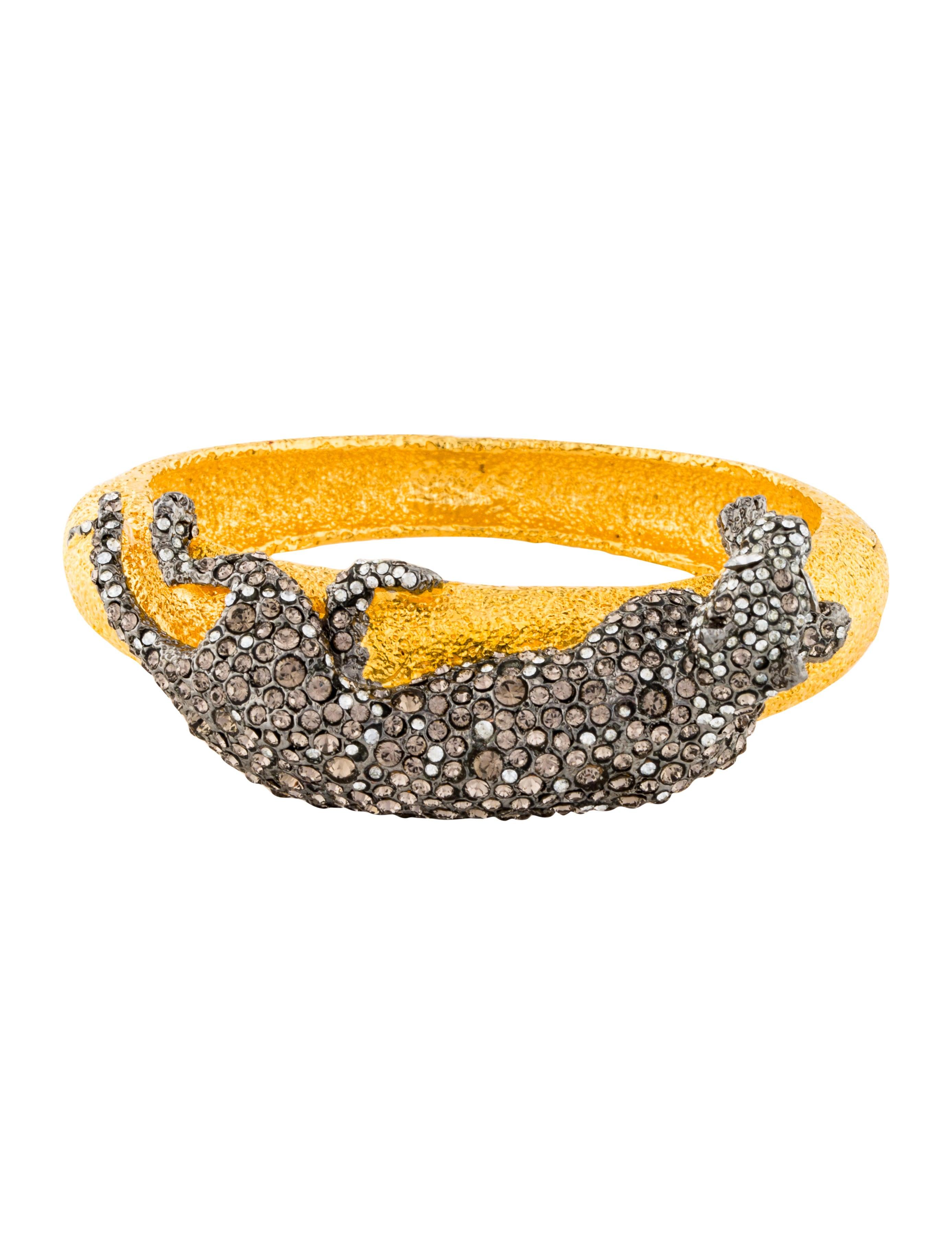 Crystal Siyabona Panther Bracelet