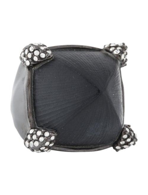 Alexis Bittar Mod Pavé-Pronged Lucite Ring