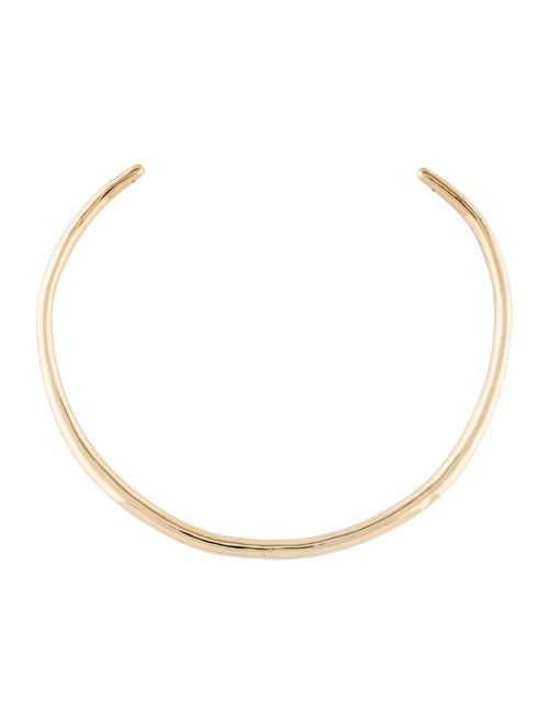 Alexis Bittar Choker Necklace Gold