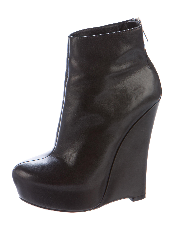 alejandro ingelmo platform wedge ankle boots shoes