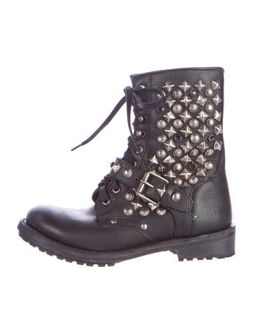 Ryanna Studded Ankle Boots