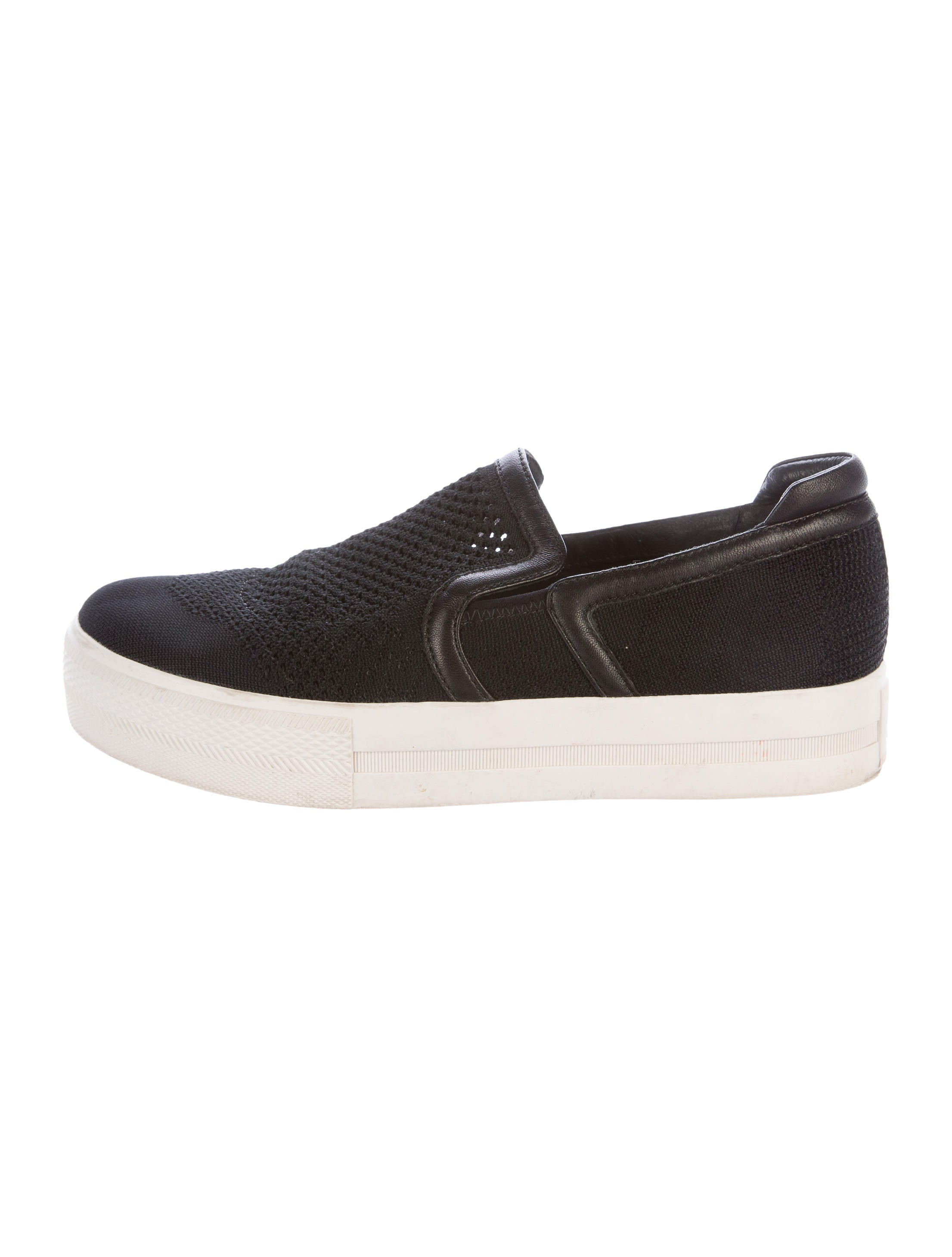 ash canvas slip on sneakers shoes wab20201 the realreal