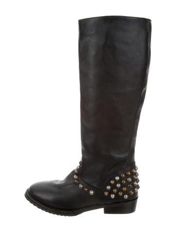 ash leather knee high boots w tags shoes wab20251