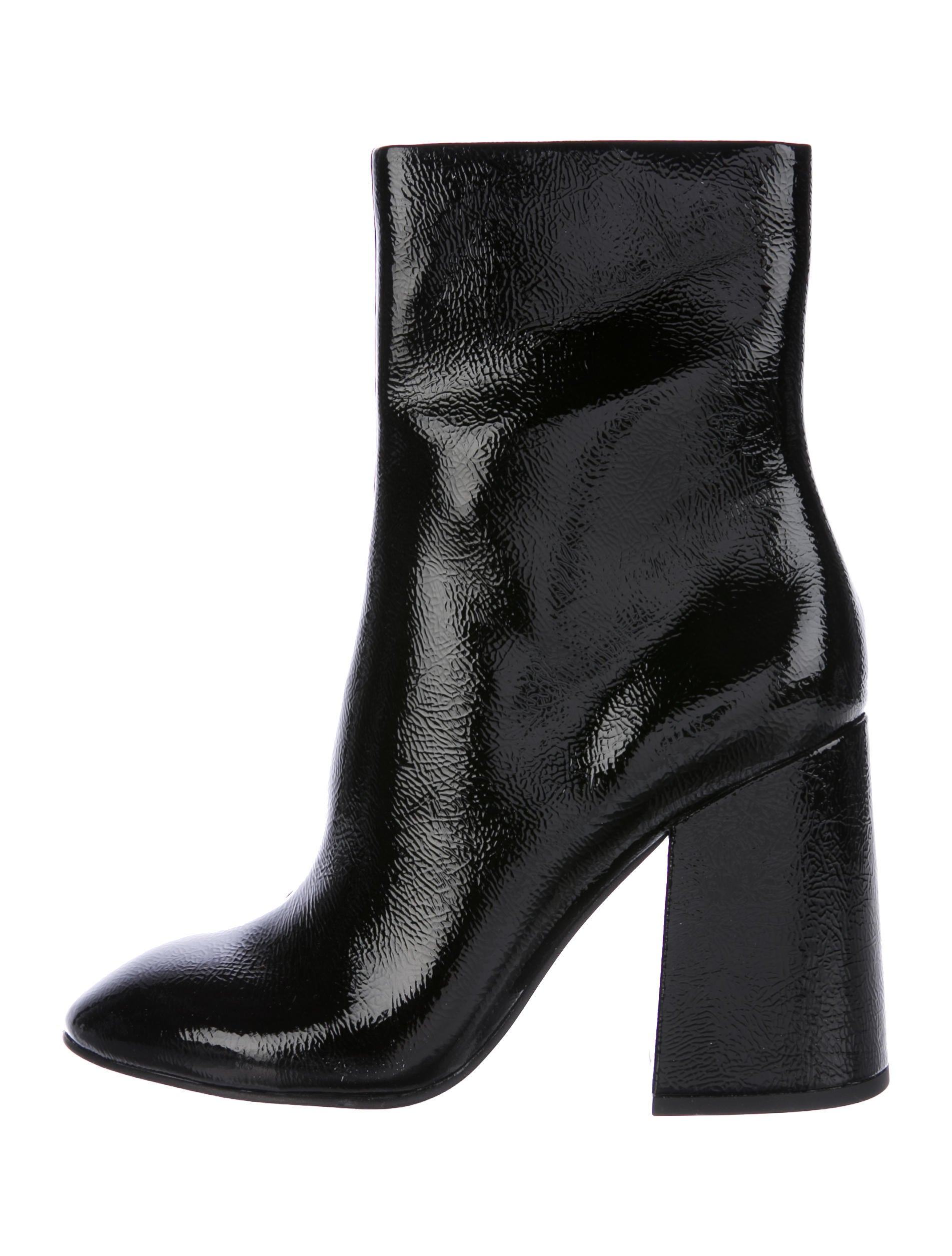 ash feel patent leather ankle boots shoes wab20273