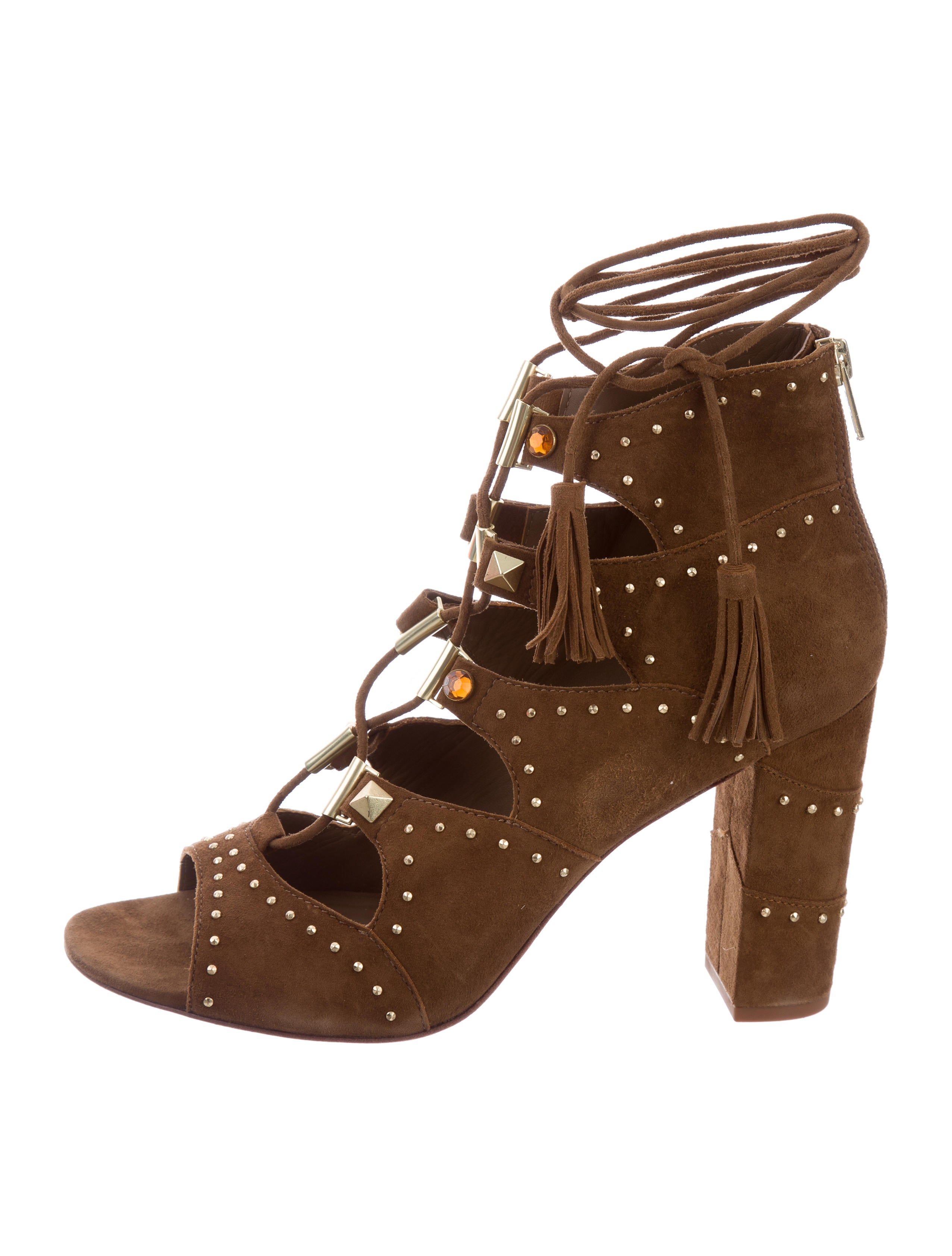 Ash Suede Caged Sandals w/ Tags big discount cheap online discount purchase very cheap for sale XvspG7cE
