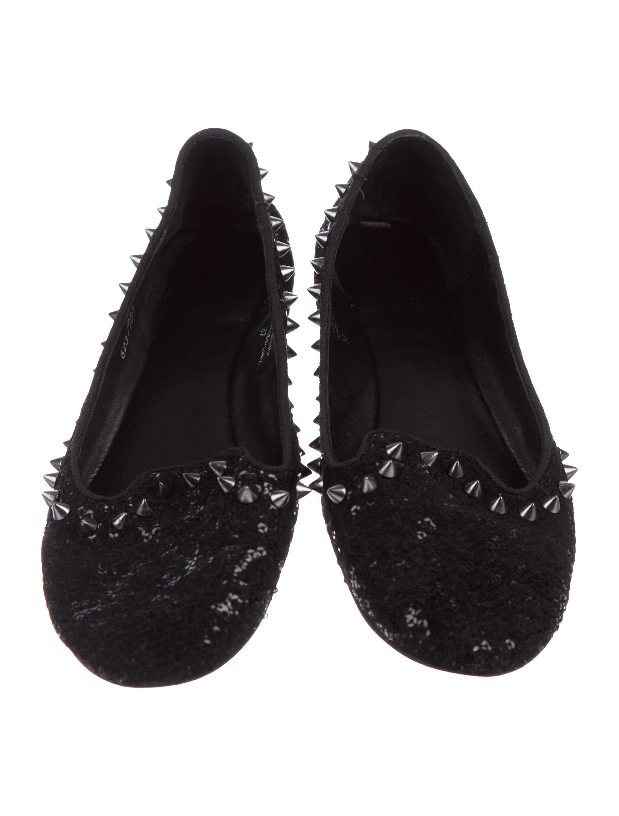 Ash Glitter Studded Loafers clearance low price fee shipping cheapest price cheap price E4GeqUBVu