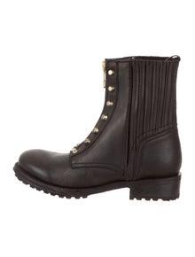 b93a66e3e2f Ash. Rachel Round-Toe Ankle Boots