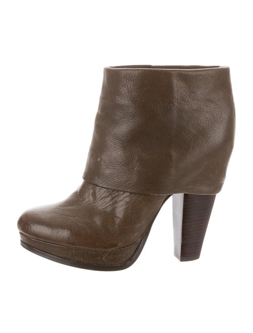 Ash Easy Ankle Boots Brown