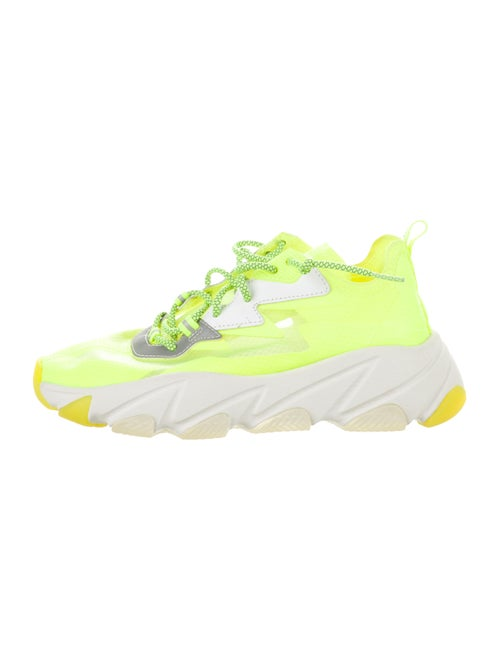 Ash Round-Toe Sneakers Yellow