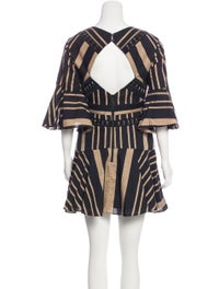 Flared Mini Dress image 3