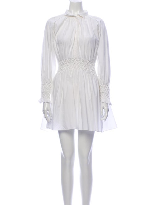 Acler Mini Dress White