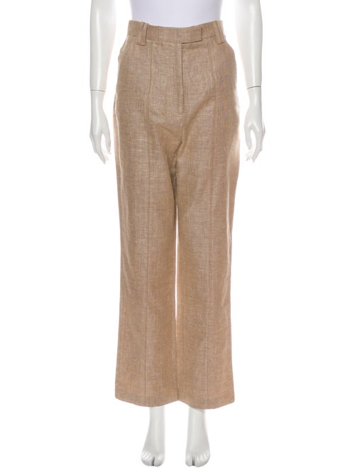 Acler Linen Straight Leg Pants w/ Tags