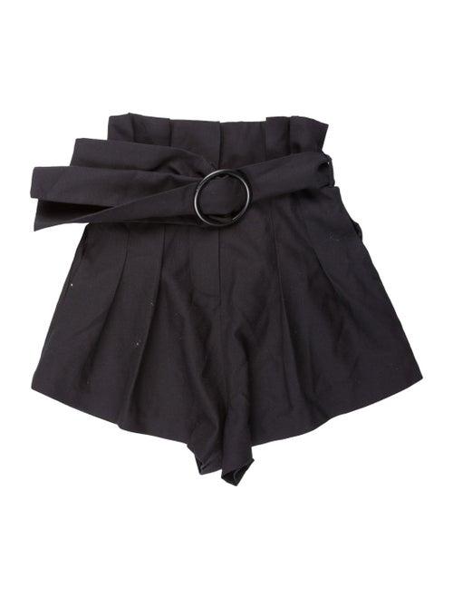 Acler Wool Mini Shorts Wool