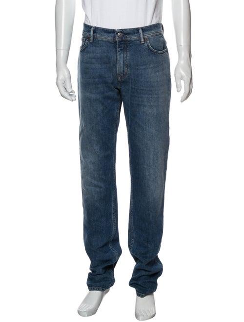 Acne Studios Blå Konst Straight-Leg Jeans Blue