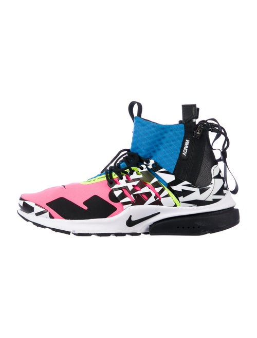 Acronym x Nike Printed Mesh Accents Sneakers Black