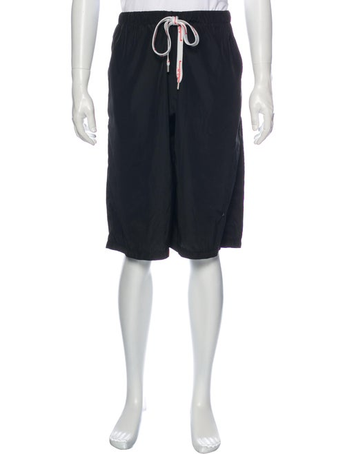 A-Cold-Wall Athletic Shorts Black