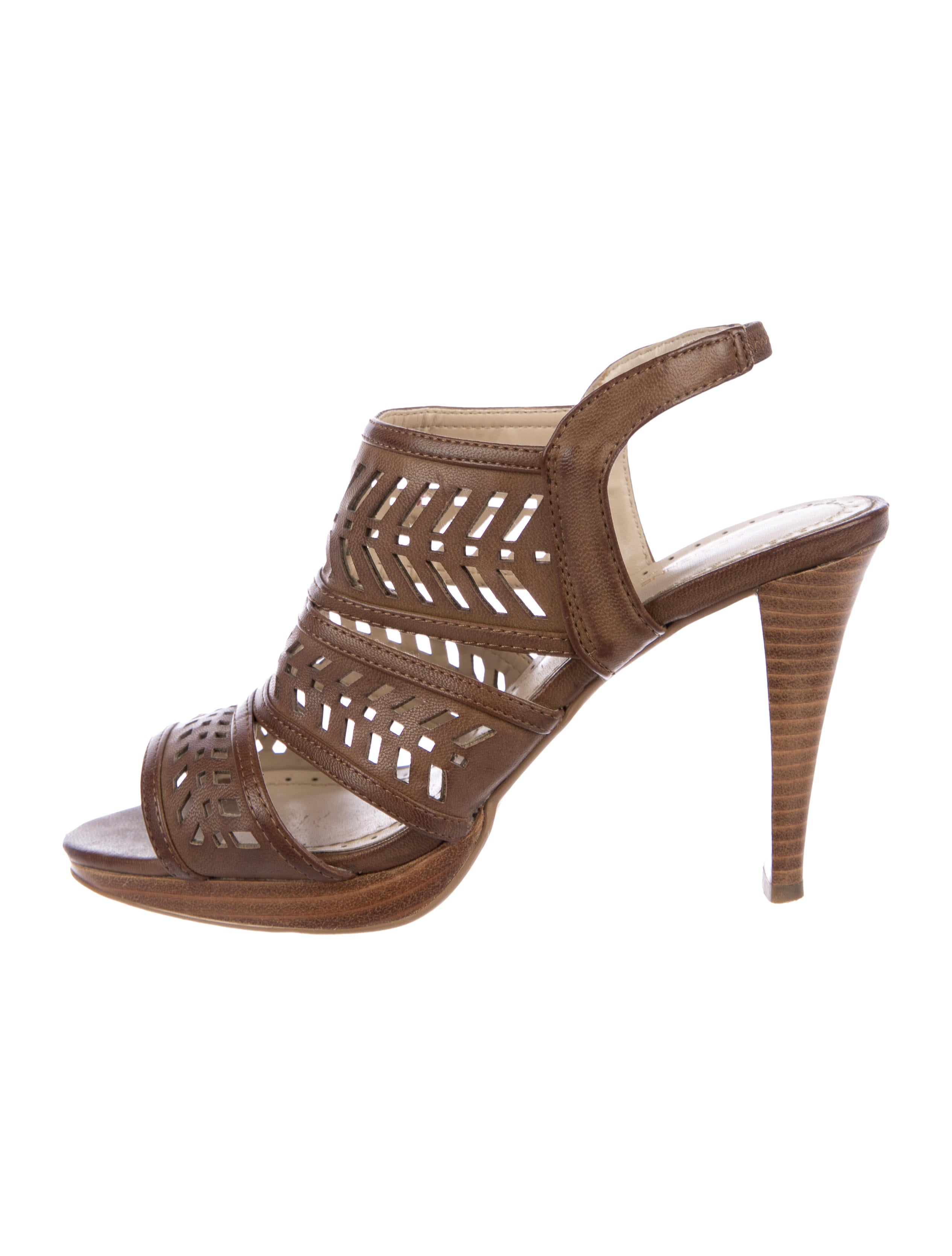 clearance best prices Adrienne Vittadini Cutout Slingback Sandals cheapest clearance store popular sale online kdfjQj1