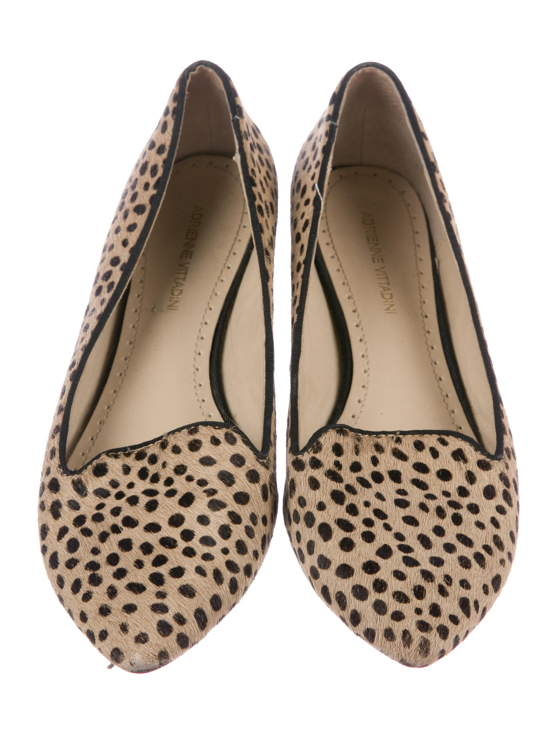 Adrienne Vittadini Ponyhair Pointed-Toe Flats best sale cheap online sale cheap prices buy cheap view bAt387Ny0G