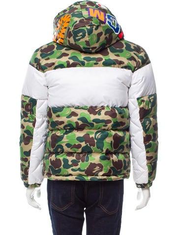 Adidas Originals X Bape Camouflage Puffer Jacket