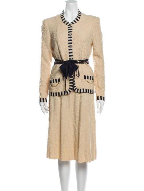 Adolfo Vintage Wool Skirt Suit Wool