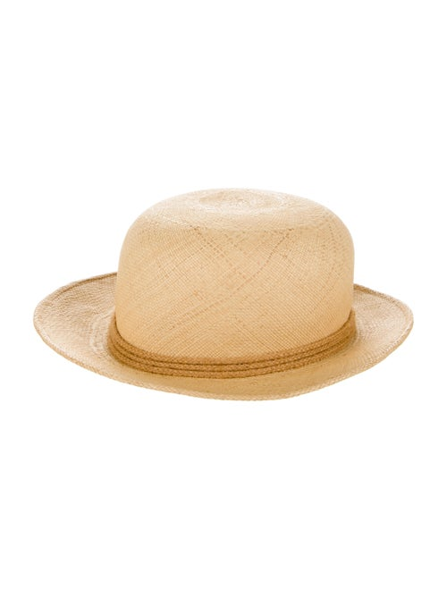 Adolfo Wide Brim Fedora Hat