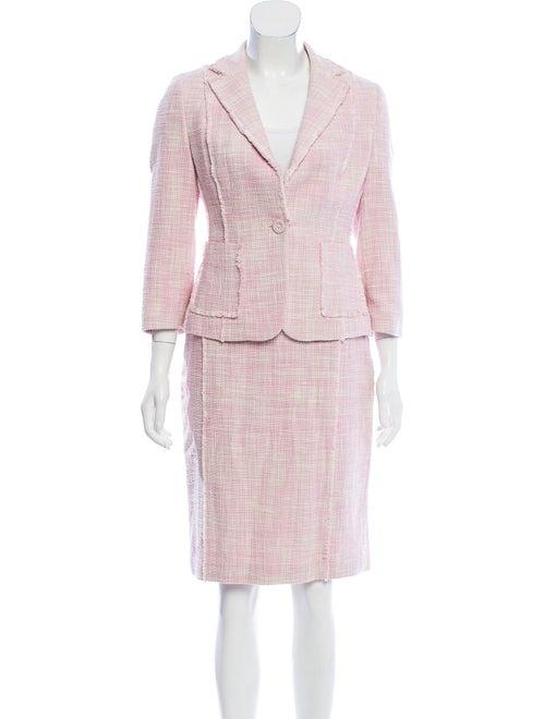 Adolfo Dominguez Skirt Suit Pink