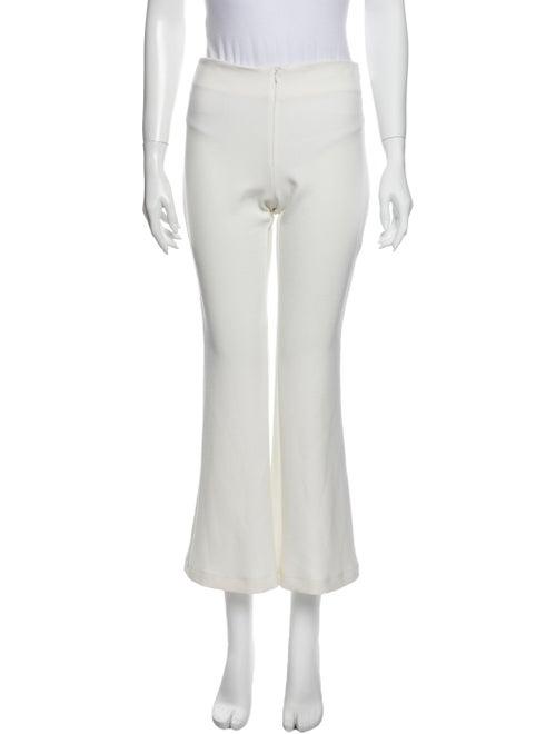 Silvia Tcherassi Wide Leg Pants White