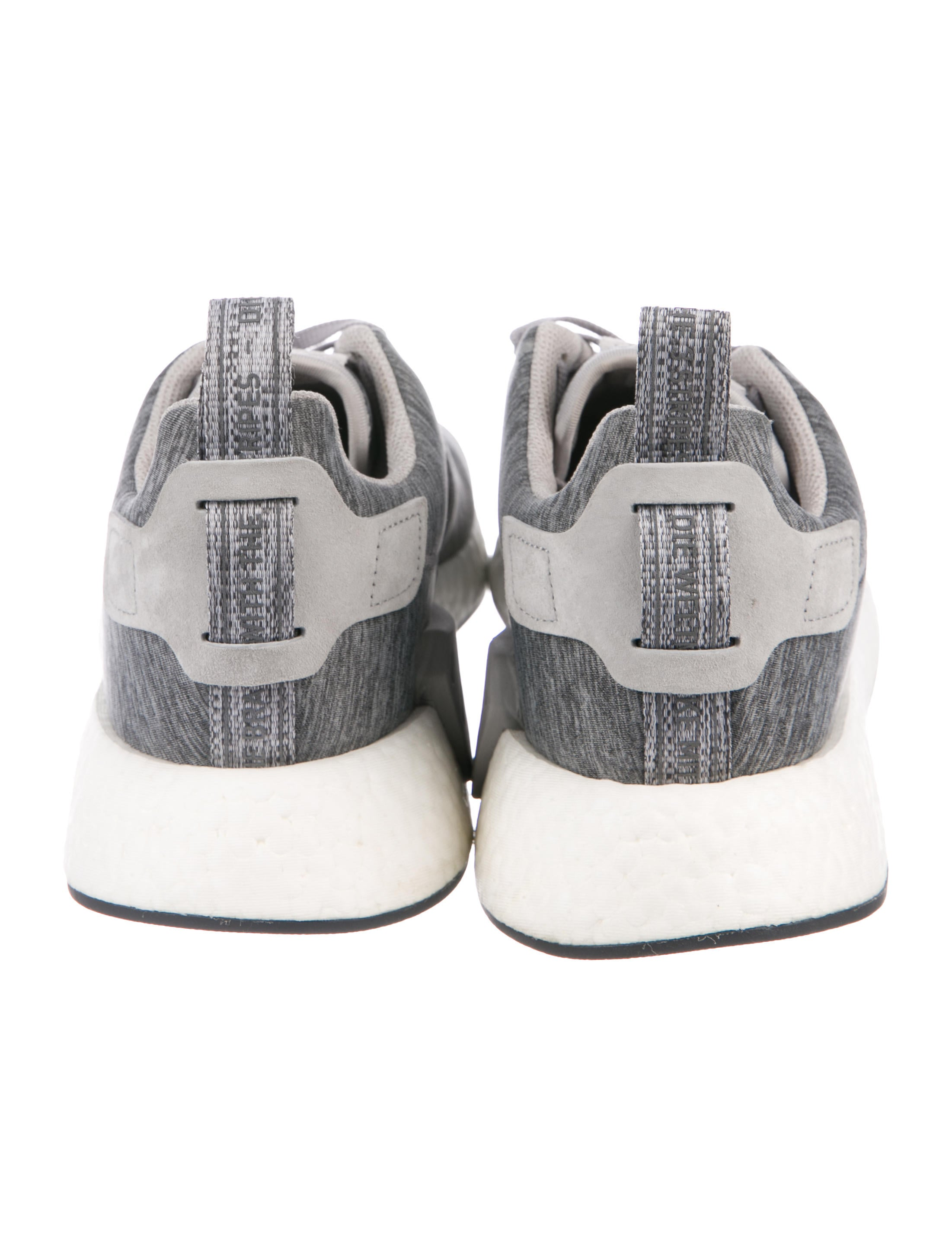 Adidas NMD R2 'Grey Mélange' Sneakers Shoes W2ADS23737