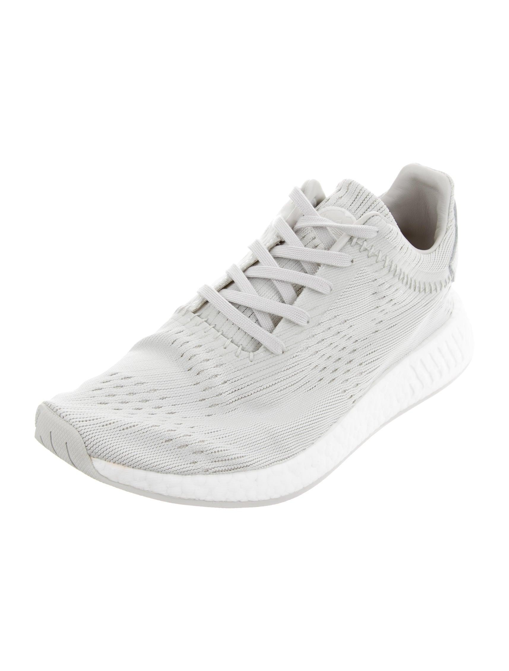 Adidas originali x ali + corna nmd r2 primo maglia scarpe w / tag