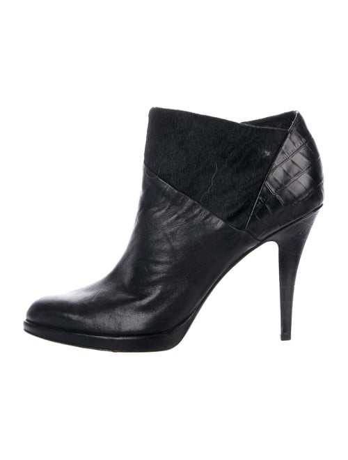 Áeron Leather Ankle Boots Black