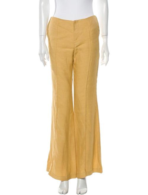 Áeron Wide Leg Pants Yellow