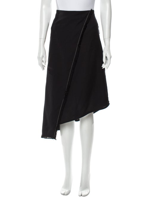 Áeron Midi Length Skirt Black
