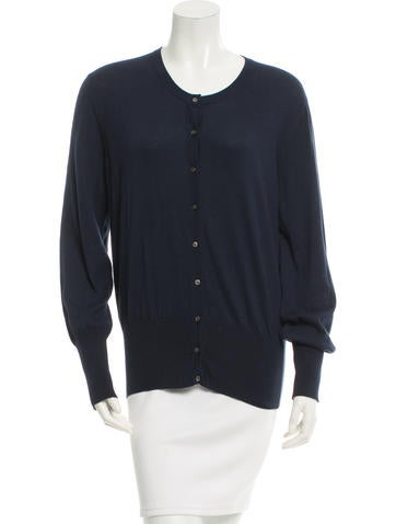 Allude Knit Long Sleeve Cardigan w/ Tags None