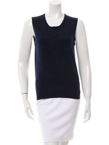 Allude Knit Sleeveless Top w/ Tags None