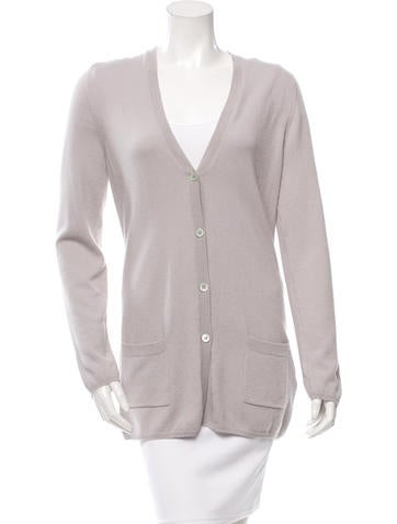 Allude Cashmere V-Neck Cardigan w/ Tags None