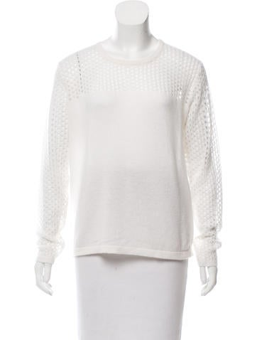 Allude Open Knit Cashmere Sweater w/ Tags None