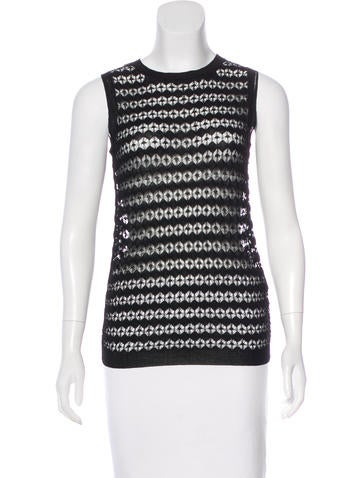 Allude Sleeveless Knit Top w/ Tags None