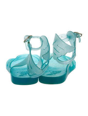 Jelly Wing-Accented Sandals