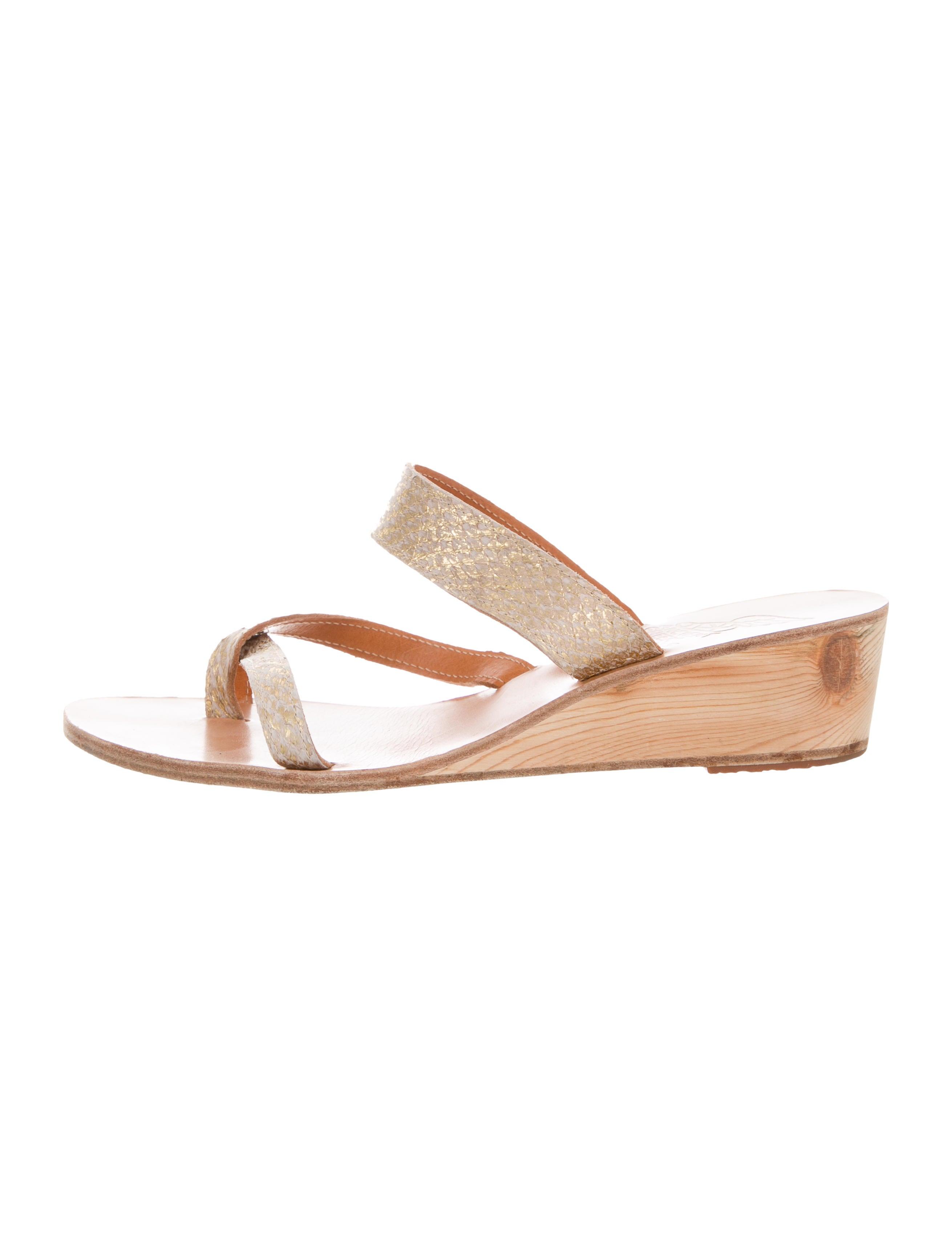 Ancient Greek Sandals Embossed Slide Sandals for nice for sale dew9u8fxMa