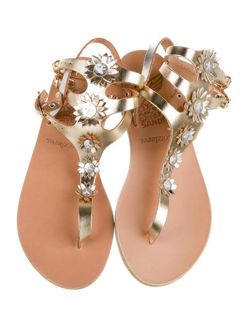 Ancient Greek Sandals Leather Gladiator Sandals