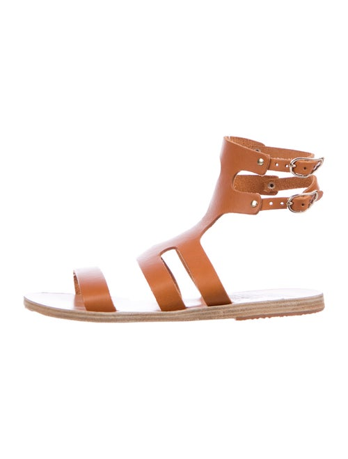 Ancient Greek Sandals Leather Gladiator Sandals Or