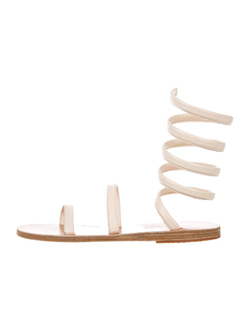 Ancient Greek Sandals Leather Gladiator Sandals Wh